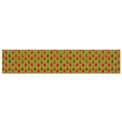 Christmas Trees Pattern Flano Scarf (Small)
