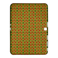 Christmas Trees Pattern Samsung Galaxy Tab 4 (10.1 ) Hardshell Case