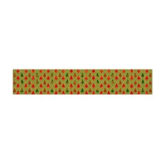 Christmas Trees Pattern Flano Scarf (Mini)