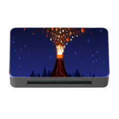 Christmas Volcano Memory Card Reader with CF