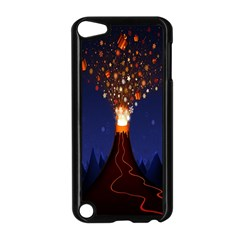 Christmas Volcano Apple iPod Touch 5 Case (Black)