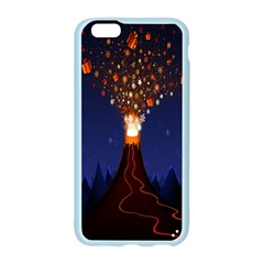 Christmas Volcano Apple Seamless iPhone 6/6S Case (Color)