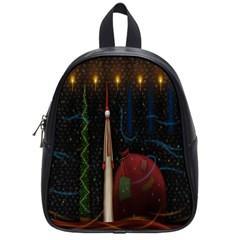 Christmas Xmas Bag Pattern School Bags (Small)