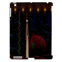 Christmas Xmas Bag Pattern Apple Ipad 3/4 Hardshell Case (compatible With Smart Cover)