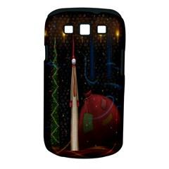 Christmas Xmas Bag Pattern Samsung Galaxy S Iii Classic Hardshell Case (pc+silicone)