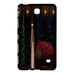 Christmas Xmas Bag Pattern Samsung Galaxy Tab 4 (8 ) Hardshell Case