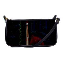Christmas Xmas Bag Pattern Shoulder Clutch Bags