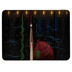 Christmas Xmas Bag Pattern Samsung Galaxy Tab 7  P1000 Flip Case