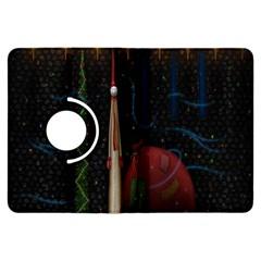 Christmas Xmas Bag Pattern Kindle Fire Hdx Flip 360 Case