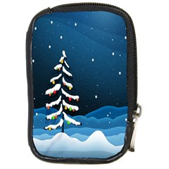 Christmas Xmas Fall Tree Compact Camera Cases