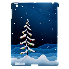 Christmas Xmas Fall Tree Apple iPad 3/4 Hardshell Case (Compatible with Smart Cover)