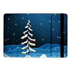 Christmas Xmas Fall Tree Samsung Galaxy Tab Pro 10 1  Flip Case