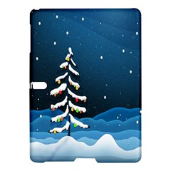 Christmas Xmas Fall Tree Samsung Galaxy Tab S (10 5 ) Hardshell Case