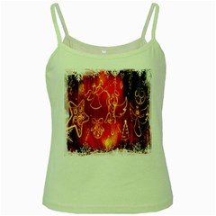 Christmas Widescreen Decoration Green Spaghetti Tank