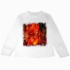 Christmas Widescreen Decoration Kids Long Sleeve T-Shirts
