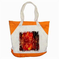 Christmas Widescreen Decoration Accent Tote Bag
