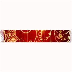 Christmas Widescreen Decoration Small Bar Mats