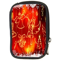 Christmas Widescreen Decoration Compact Camera Cases
