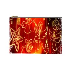 Christmas Widescreen Decoration Cosmetic Bag (Large)