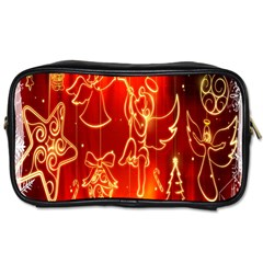 Christmas Widescreen Decoration Toiletries Bags 2-Side