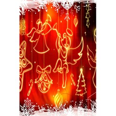 Christmas Widescreen Decoration 5.5  x 8.5  Notebooks