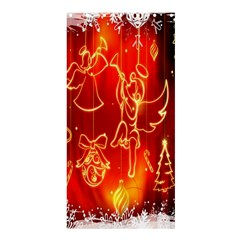 Christmas Widescreen Decoration Shower Curtain 36  x 72  (Stall)