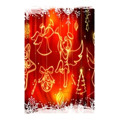 Christmas Widescreen Decoration Shower Curtain 48  X 72  (small)