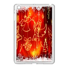 Christmas Widescreen Decoration Apple Ipad Mini Case (white)