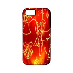 Christmas Widescreen Decoration Apple iPhone 5 Classic Hardshell Case (PC+Silicone)