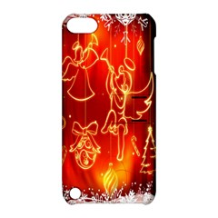 Christmas Widescreen Decoration Apple iPod Touch 5 Hardshell Case with Stand