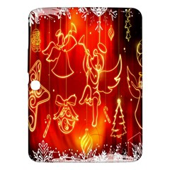 Christmas Widescreen Decoration Samsung Galaxy Tab 3 (10 1 ) P5200 Hardshell Case