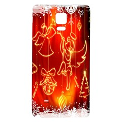 Christmas Widescreen Decoration Galaxy Note 4 Back Case