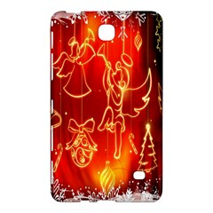 Christmas Widescreen Decoration Samsung Galaxy Tab 4 (8 ) Hardshell Case
