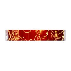 Christmas Widescreen Decoration Flano Scarf (Mini)