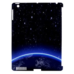 Christmas Xmas Night Pattern Apple iPad 3/4 Hardshell Case (Compatible with Smart Cover)