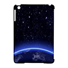 Christmas Xmas Night Pattern Apple iPad Mini Hardshell Case (Compatible with Smart Cover)