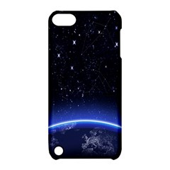 Christmas Xmas Night Pattern Apple iPod Touch 5 Hardshell Case with Stand