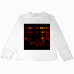 Christmas Advent Gloss Sparkle Kids Long Sleeve T Shirts