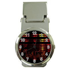 Christmas Advent Gloss Sparkle Money Clip Watches