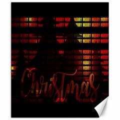 Christmas Advent Gloss Sparkle Canvas 20  x 24