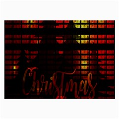 Christmas Advent Gloss Sparkle Large Glasses Cloth