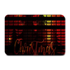 Christmas Advent Gloss Sparkle Plate Mats