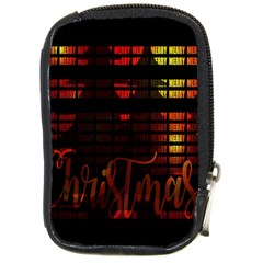 Christmas Advent Gloss Sparkle Compact Camera Cases
