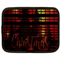 Christmas Advent Gloss Sparkle Netbook Case (XL)