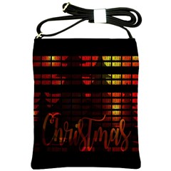 Christmas Advent Gloss Sparkle Shoulder Sling Bags