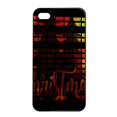 Christmas Advent Gloss Sparkle Apple iPhone 4/4s Seamless Case (Black)