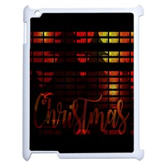 Christmas Advent Gloss Sparkle Apple iPad 2 Case (White)