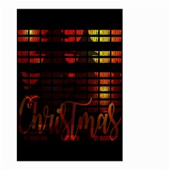 Christmas Advent Gloss Sparkle Small Garden Flag (two Sides)