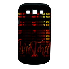 Christmas Advent Gloss Sparkle Samsung Galaxy S Iii Classic Hardshell Case (pc+silicone)
