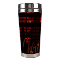 Christmas Advent Gloss Sparkle Stainless Steel Travel Tumblers